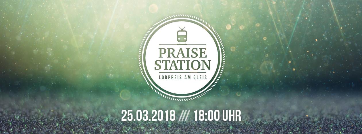 Praisestation – Lobpreis am Gleis